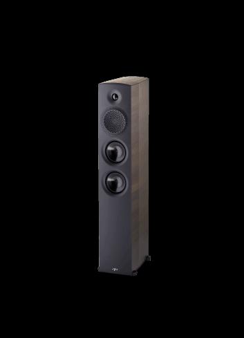 diffusori acustici da pavimento per hifi e home theater, Paradigm serie Premier modello 700F, finitura espresso grain