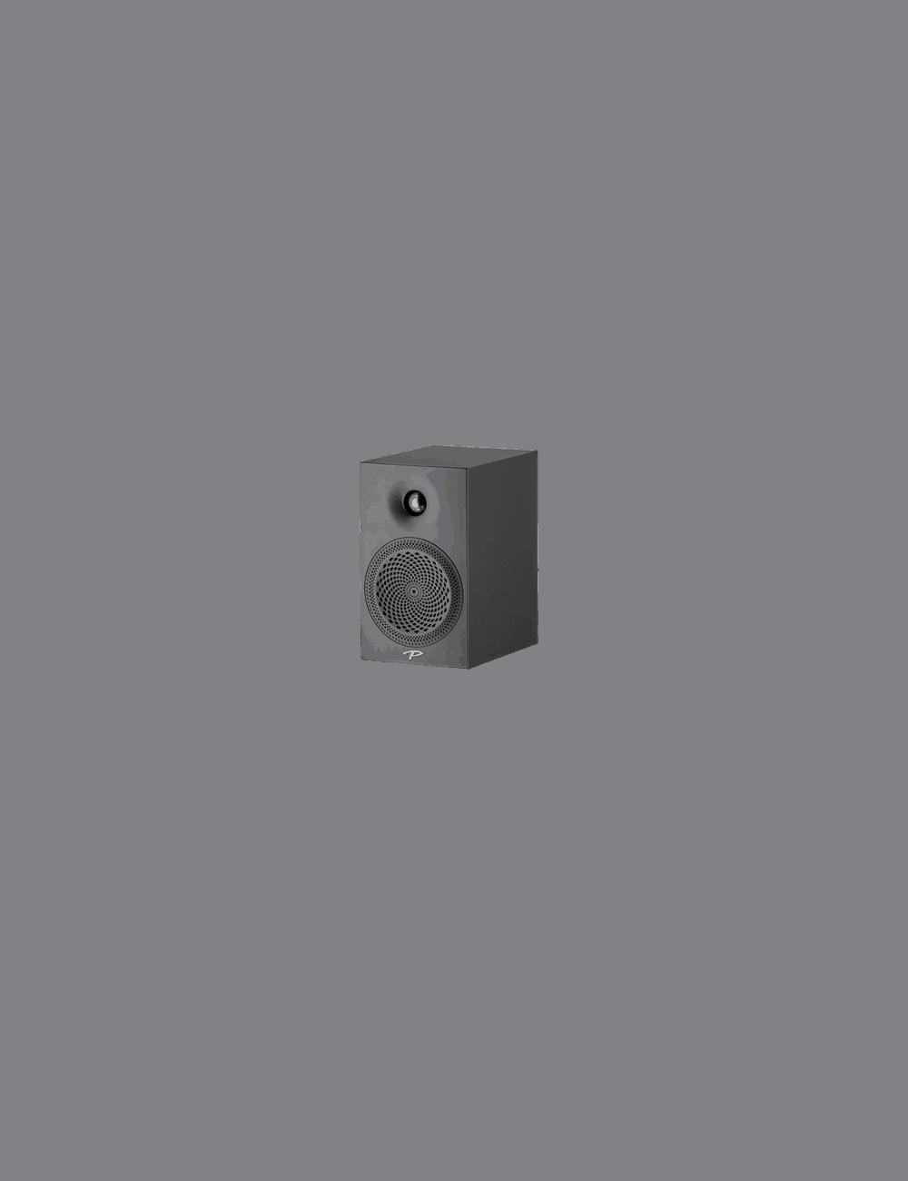 diffusori acustici da stand o da scaffale per hifi e home theater, Paradigm serie Premier modello 100B, finitura black gloss