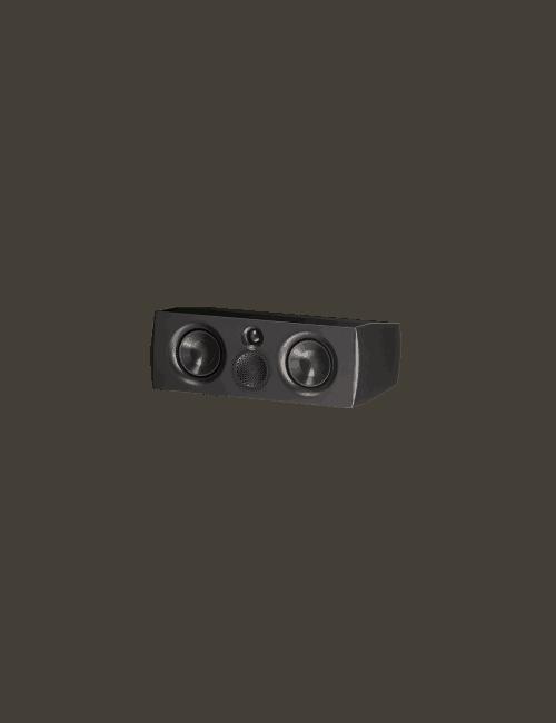 diffusore acustico per canale centrale da stand o da scaffale per hifi e home theater, Paradigm Premier 500C black gloss