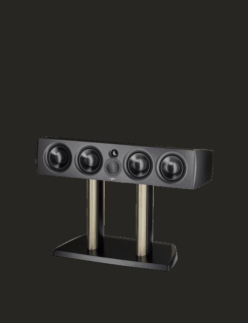 diffusore acustico per canale centrale da stand o da scaffale per hifi e home theater, Paradigm Premier 600C black gloss