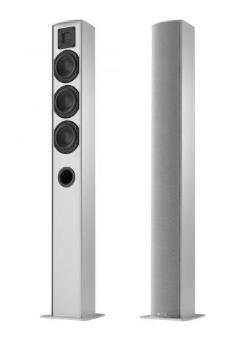diffusori acustici HiFi e Home Theater, Piega TMicro 60 AMT, finitura aluminium silver