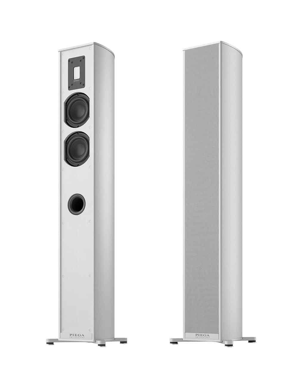 diffusori acustici amplificati wireless HiFi, Piega Premium Wireless 701, finitura aluminium silver