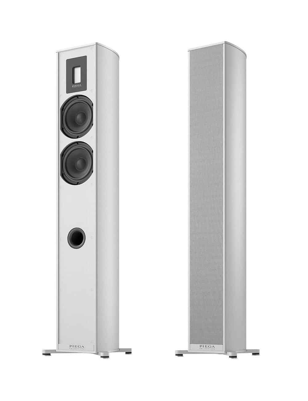 diffusori acustici amplificati wireless HiFi, Piega Premium Wireless 501, finitura aluminium silver