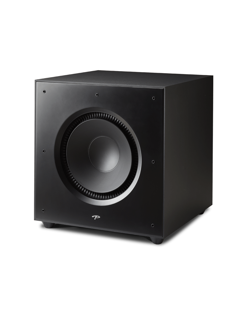 subwoofer amplificato Paradigm Defiance X15, HiFi e Home Theater, finitura satin black