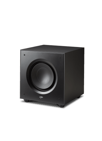 subwoofer amplificato Paradigm Defiance X12, HiFi e Home Theater, finitura satin black