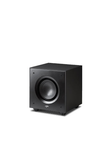 subwoofer amplificato Paradigm Defiance X10, HiFi e Home Theater, finitura satin black