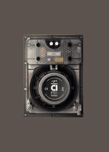diffusore acustico da incasso a parete o a soffitto, Paradigm CI PRO P80-IW, vista posteriore