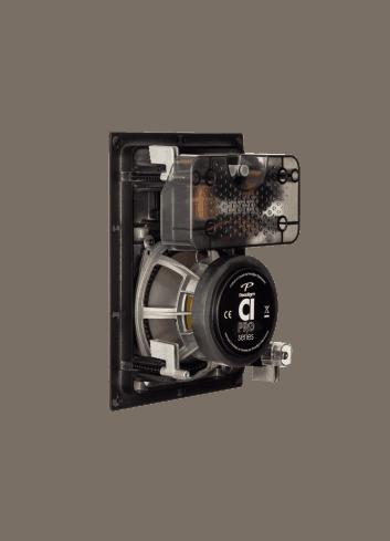 diffusore acustico da incasso a parete o a soffitto, Paradigm CI PRO P65-IW, vista posteriore