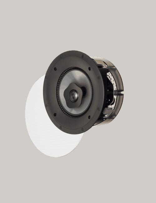 diffusore acustico da incasso a parete o a soffitto, Paradigm CI PRO P65-R con griglia rotonda