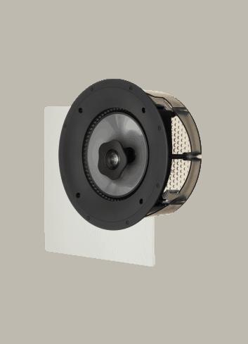 diffusore acustico da incasso a parete o a soffitto, Paradigm CI PRO P80-R, griglia quadrata opzionale
