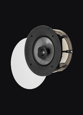 diffusore acustico da incasso a parete o a soffitto, Paradigm CI PRO P80-R, griglia rotonda