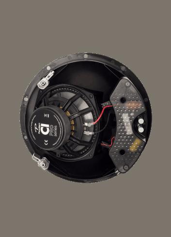 diffusore acustico da incasso a parete o a soffitto, Paradigm CI PRO P80-A, vista posteriore