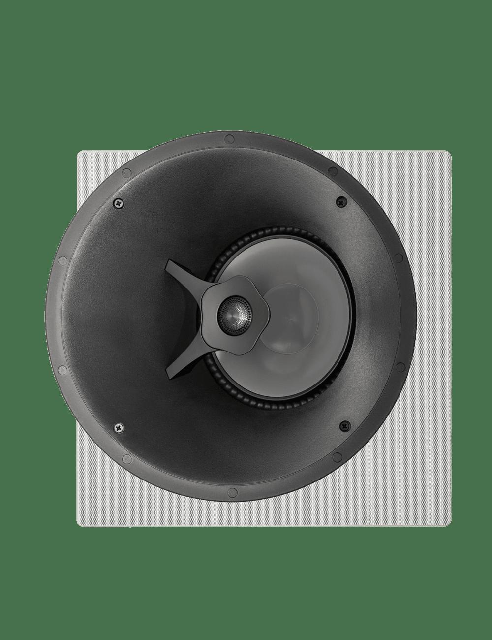 diffusore acustico da incasso a parete o a soffitto, Paradigm CI PRO P80-A, griglia quadrata opzionale