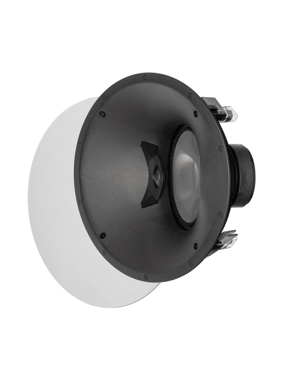 diffusore acustico da incasso a parete o a soffitto, Paradigm CI PRO P80-A, griglia rotonda