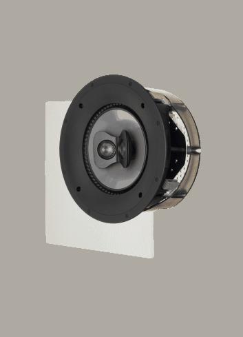 diffusore acustico da incasso a parete o a soffitto, Paradigm CI PRO P80-SM, griglia quadrata opzionale