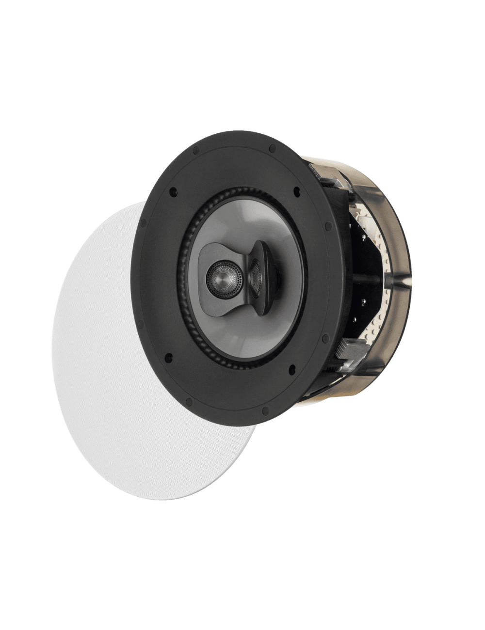 diffusore acustico da incasso a parete o a soffitto, Paradigm CI PRO P80-SM, griglia rotonda