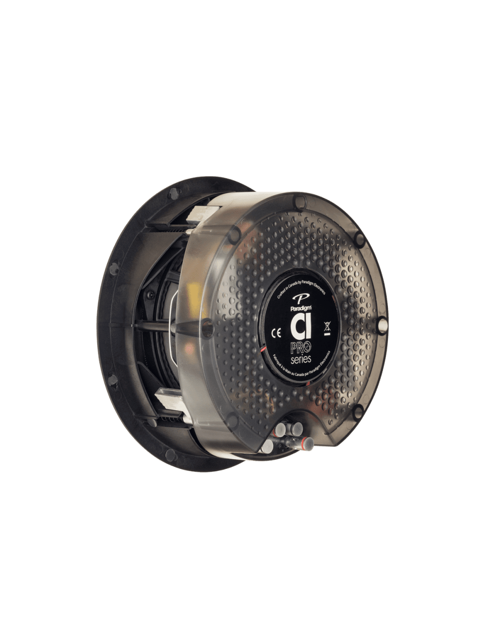diffusore acustico da incasso a parete o a soffitto, Paradigm CI PRO P80-SM, vista posteriore