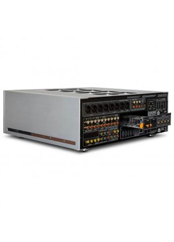 preamplificatore audio video multicanale, NAD M17 v2, serie Masters, vista posteriore modulo