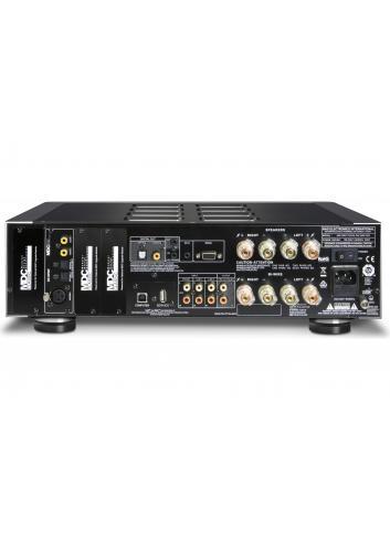 amplificatore integrato HiFi, NAD M32, serie Masters, vista pannello posteriore