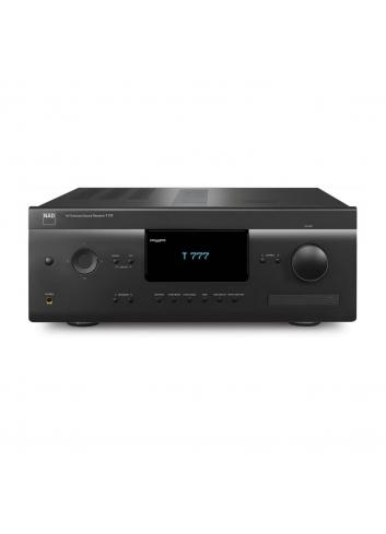 sintoamplificatore audio video multicanale, NAD T 777 v3, vista frontale