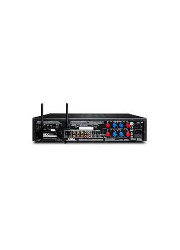 amplificatore HiFi, NAD C 368 Hybrid Digital DAC Amplifier, vista pannello connessioni, modulo BluOs installato