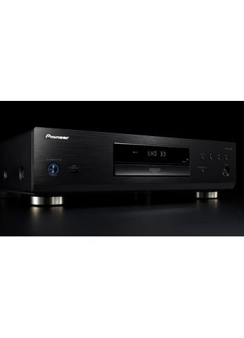 lettore universale di dischi UHD BD, BD, DVD e CD per HiFi ed Home Cinema, Pioneer UDP-LX500, vista frontale