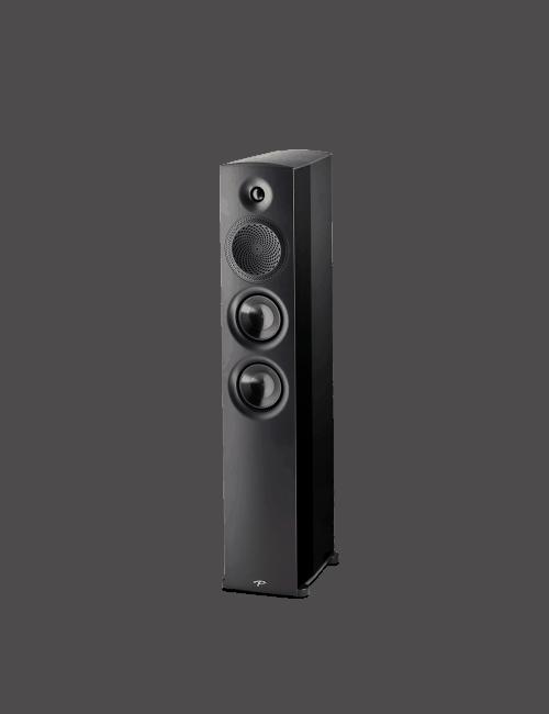 diffusori acustici da pavimento per hifi e home theater, Paradigm serie Premier modello 700F, finitura black gloss