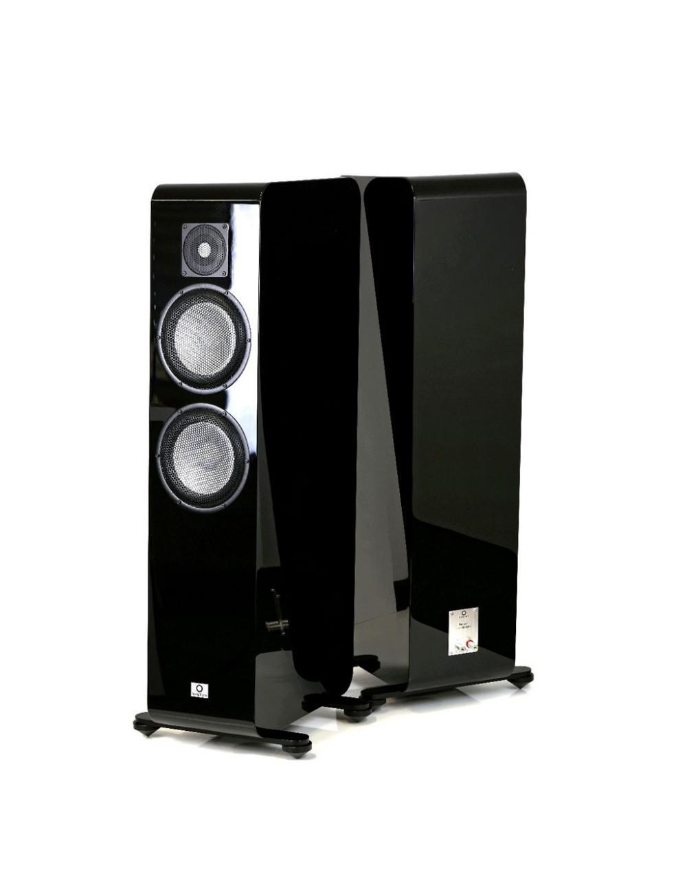 diffusori acustici da pavimento per hifi, Marten Django L, finitura black gloss