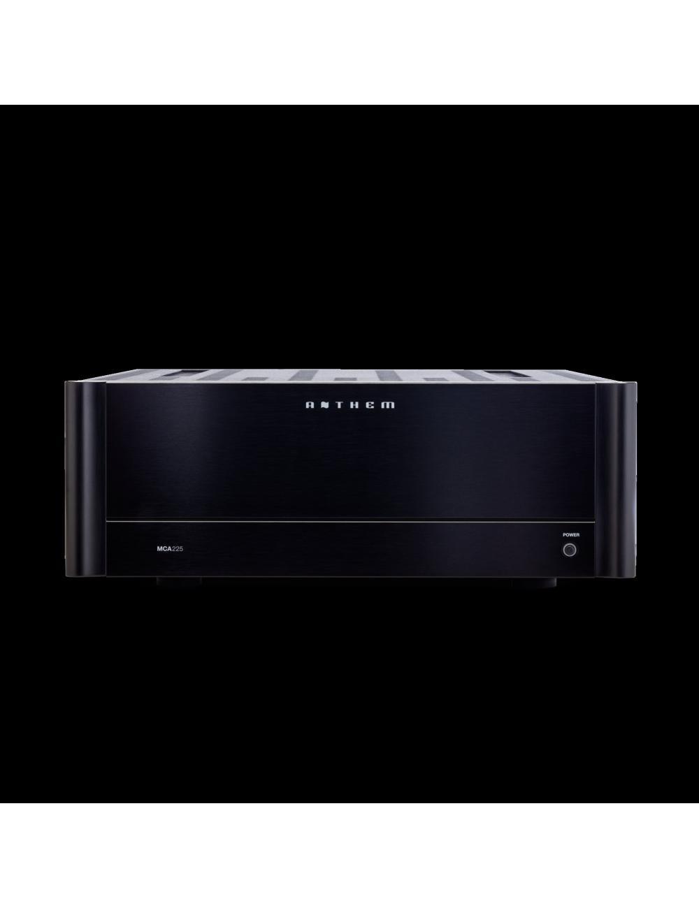 amplificatore di potenza a tre canali, Anthem MCA 225, vista frontale