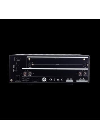 amplificatore di potenza a tre canali, Anthem MCA 225, vista posteriore connessioni
