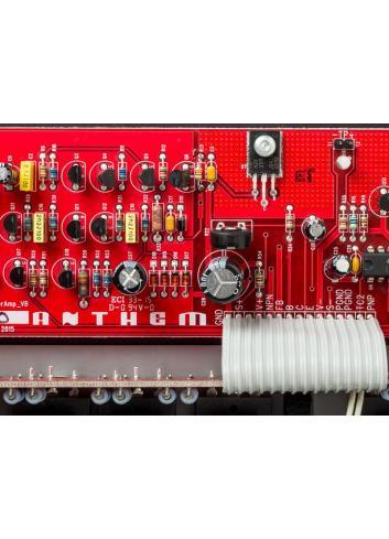 amplificatore di potenza a tre canali, Anthem MCA 525, vista scheda
