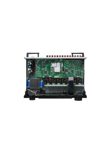 Sintoamplificatore AV 7.2 canali 4K Ultra HD con Audio 3D e HEOS, Denon AVR-X1600H, vista interno