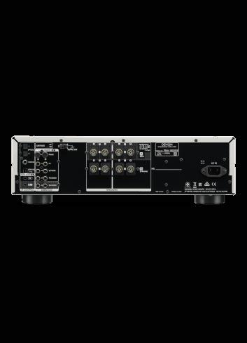 amplificatore integrato HiFi stereofonico di alta qualità con USB-DAC, Denon PMA-1600NE, vista posteriore
