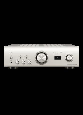 amplificatore integrato HiFi stereofonico di alta qualità con USB-DAC, Denon PMA-1600NE, finitura silver