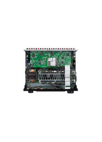 Sintoamplificatore AV 9.2 canali 4K Ultra HD con Audio 3D e HEOS, Denon AVR-X3600H, vista interno