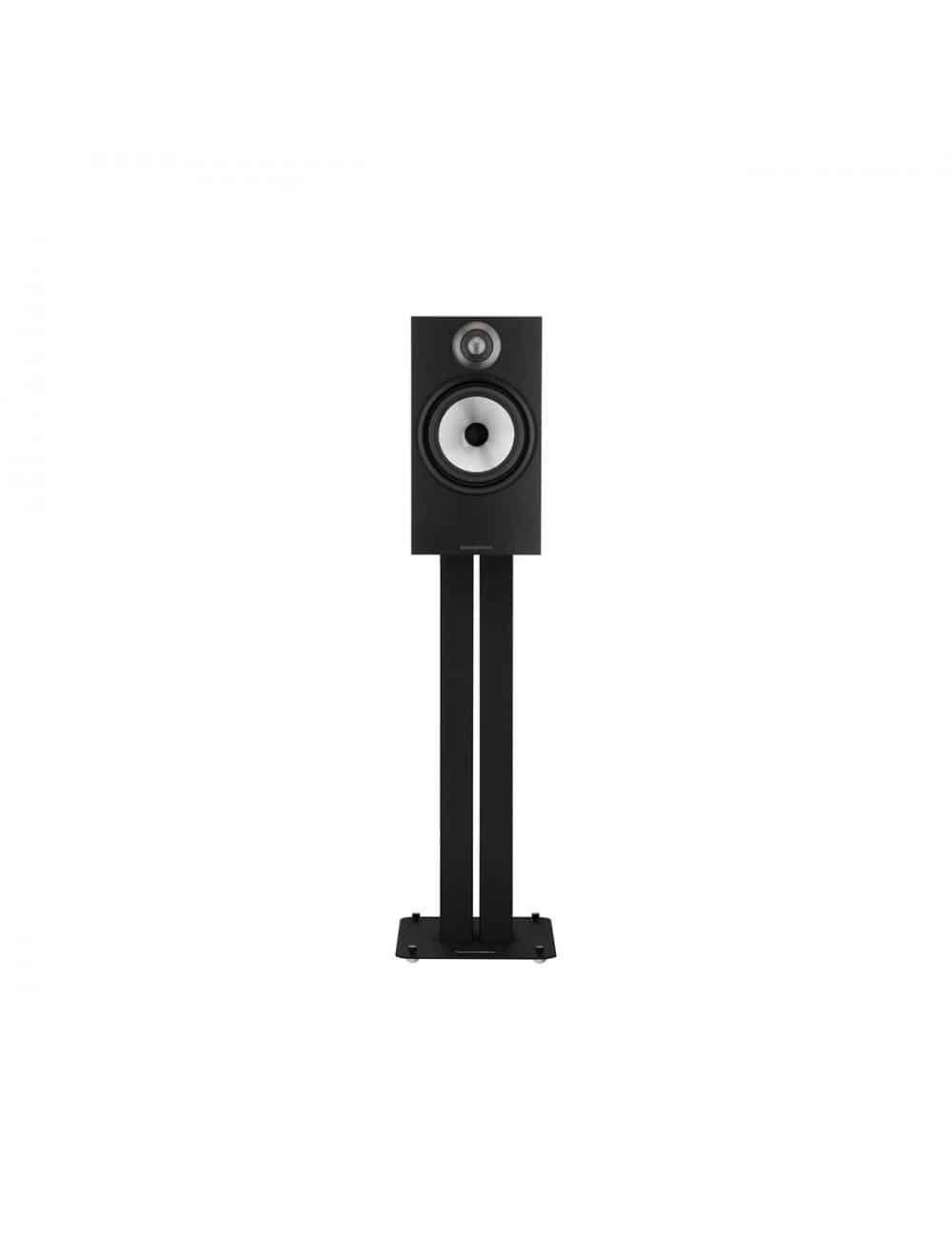 diffusori acustici da stand o scaffale per hifi e home theater, Bowers & Wilkins 606, finitura Nero