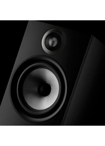 diffusori acustici da stand o scaffale per hifi e home theater, Bowers & Wilkins 606, finitura Nero, dettaglio