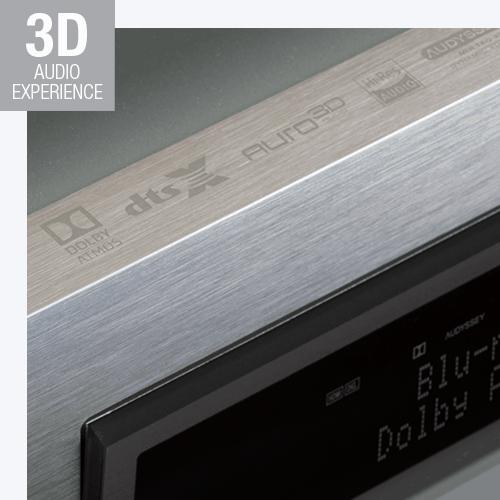 sintoamplificatore Denon, suono 3D