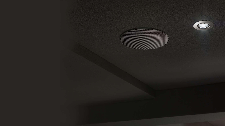 Diffusori acustici da incasso a parete o soffitto