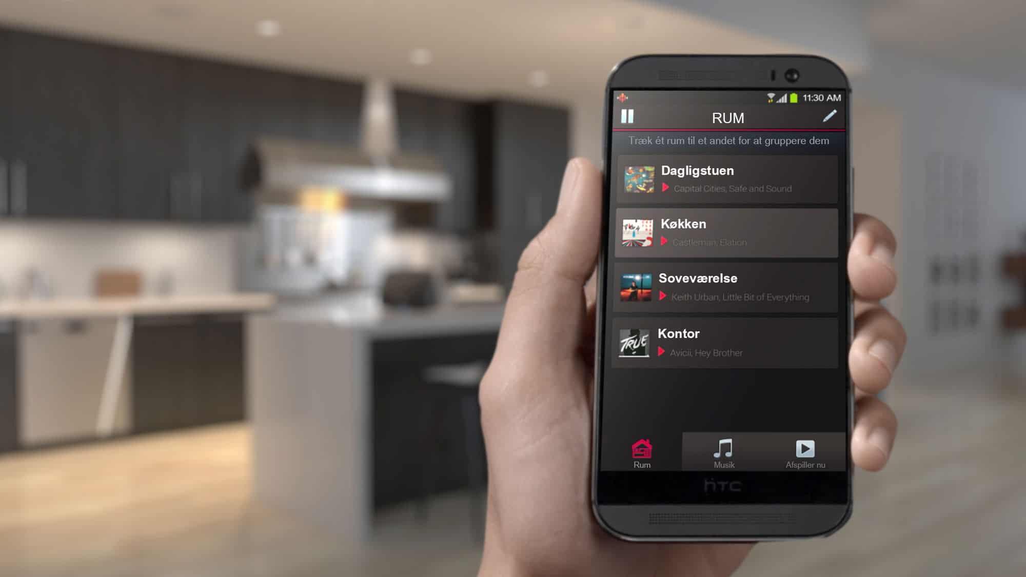 multiroom, controllare la musica dal telefonino in un click