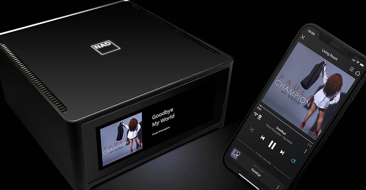 NAD M10, amplificatore streaming HiFi per davvero